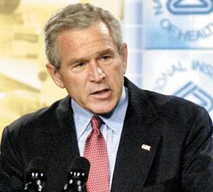 En Irak, Bush fait de la résistance