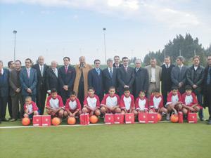 Tétouan : Création d'une école de football de l'Atlético de Madrid