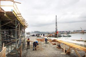 Une partie des chantiers s'achèvera à l'horizon 2010