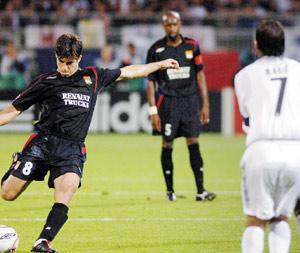 Real et Lyon en huitièmes de finale