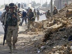 Irak : Fin 2008 : Le contingent US réduit à 100.000 soldats