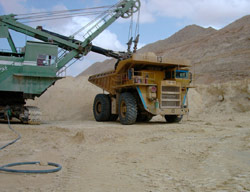 Grande crise de sable à Tanger