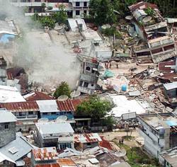 Après le tsunami, le séisme