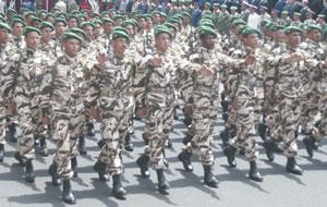 Le service militaire n'est plus obligatoire