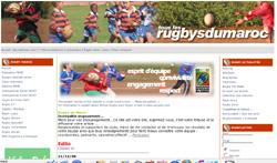 Un portail pour le rugby national