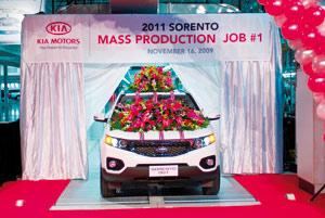 Sorento, première Kia «made in USA»
