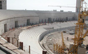 Le futur stade d'Agadir sera prêt en 2011