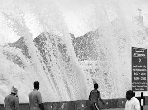 Catastrophes naturelles : Gonu sème la terreur à Oman