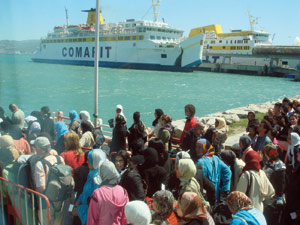 60% des immigrés établis à El Ejido sont des Marocains