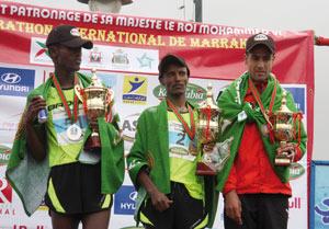 Marathon international de Marrakech : L'Éthiopien Girma Beyene Gezahn s'adjuge le titre de la 22ème édition