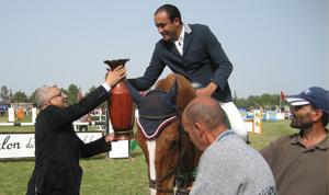 Abdelkébir Ouaddar remporte le Grand prix de SAR Lalla Amina