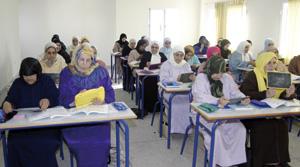 Baisse de 45,2% du taux d'analphabétisme féminin