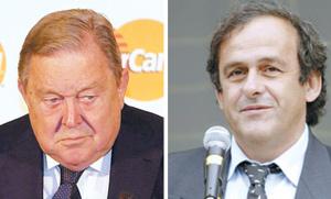 UEFA : duel pour la présidence