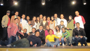«Tous en scène» : 21 bénéficiaires des ateliers de théâtre