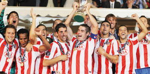L'Atletico Madrid remporte la Supercoupe d'Europe
