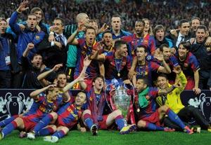 Finale de la Ligue des champions : Le FC Barcelone écrase Manchester United
