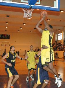 Les basketteurs nationaux à l'assaut du sacre arabe