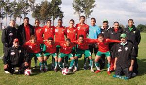 Les juniors nationaux défient les Tunisiens dansleur premier match