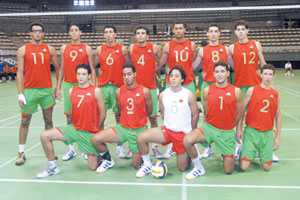 Volley-ball : victoire du Maroc