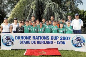 Coupe Danone de football : Le Maroc représenté par l'équipe de Fès