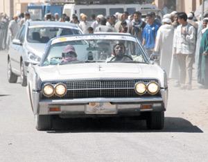 Rallye Classic 2007 : au coeur du désert