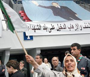 Les Algériens dénoncent le terrorisme