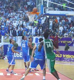 Basket : l'IRT au sommet