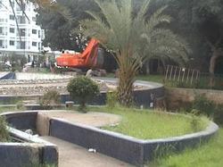 Rabat : démolition du marché des fleurs