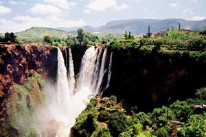 Les cascades d'Ouzoud : Une rafraîchissante berbère