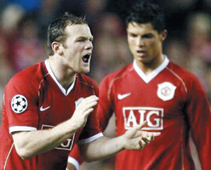 Rooney sauve Manchester united