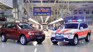 BMW X3 : Passation de témoin
