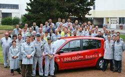 Automobile : Renault produit le millionième Scénic II