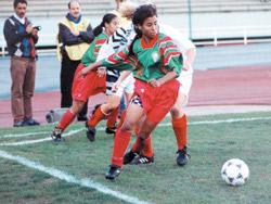 Casablanca encourage le football féminin