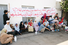 Casa-Anfa : 70 familles en otage