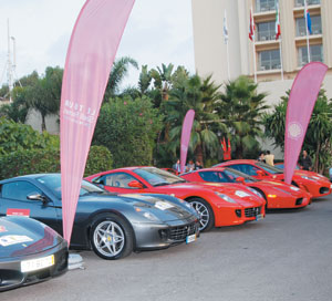 Automobile : Tour Shell Ferrari au Maroc