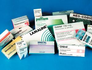 Les médicaments dopent les importations