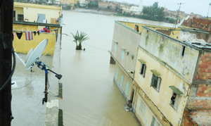 Mobilisation pour faire face aux inondations dans le Gharb