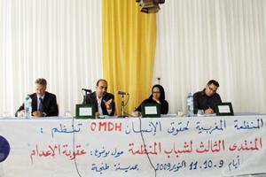 Tanger : Pour abolir la peine de mort