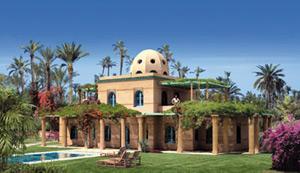 Un resort de luxe à Marrakech