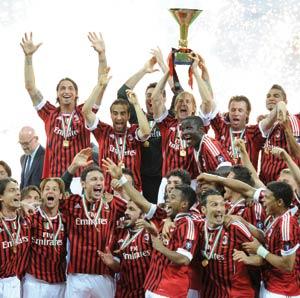 Italie : L'AC Milan remporte la Supercoupe