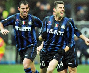 L'Inter est reparti, l'AC Milan freiné