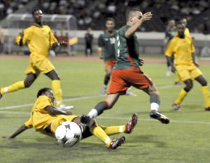 La sélection marocaine domine la Mauritanie