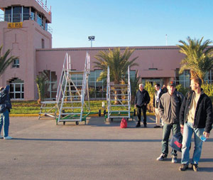 Ouarzazate : Augmentation du trafic aérien
