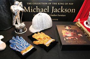 Exposition d'objets de Michael Jackson