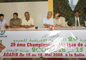Les judokas africains s'invitent à Agadir