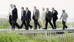 Sommet du G8 : la sécurité énergétique d'abord