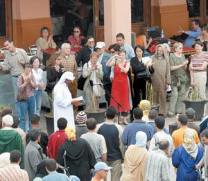 Marrakech à l'heure de la poésie
