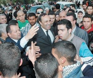 Habib El Malki hué par des étudiants