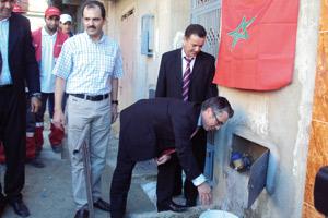 Tanger : Alimentation en eau potable du quartier Béni Touzine