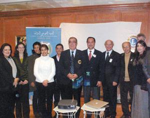 Tanger : Visite aux centres sociaux des Lions Clubs